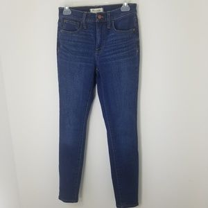 Madewell Roadtripper high rise skinny jeans 26